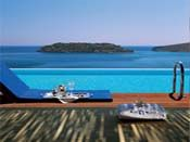Blue Palace Hotel in Elounda, Kreta